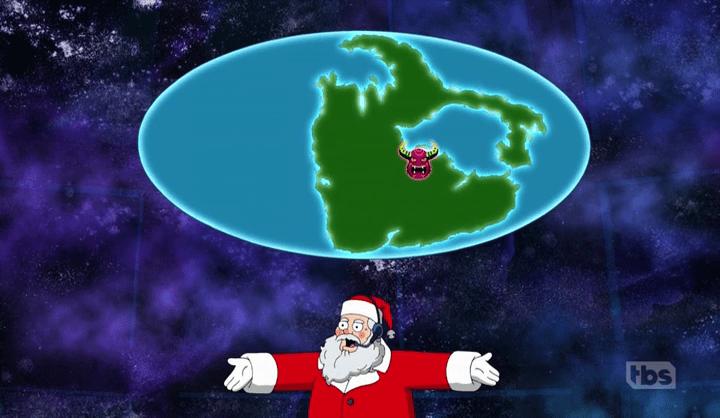 Evil Santa on American Dad