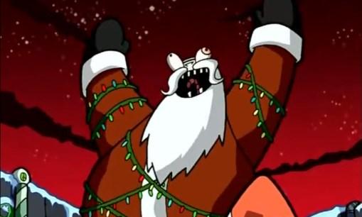 Evil Robot Santa from Invader Zim