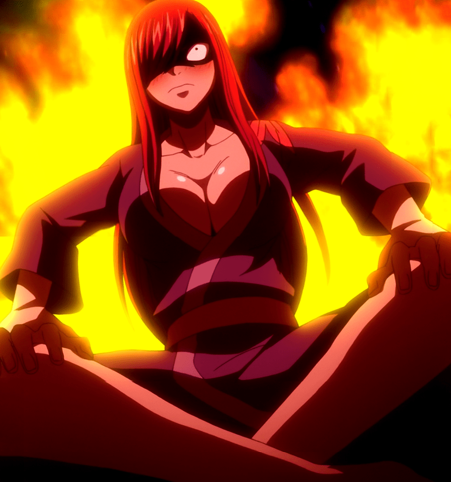 Fairy Tail Drunken Erza
