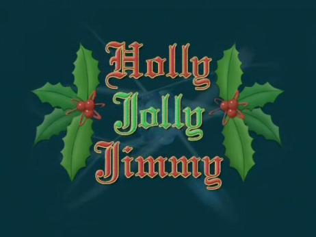 Holly Jolly Jimmy Neutron
