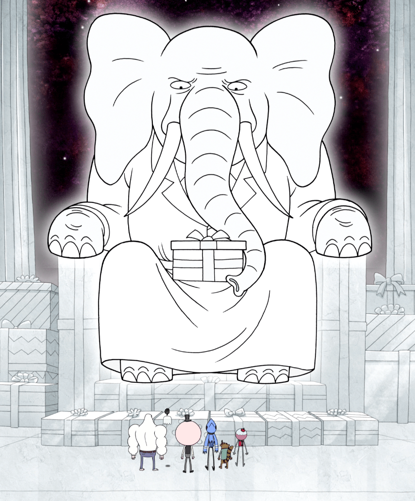 The almighty White Elephant