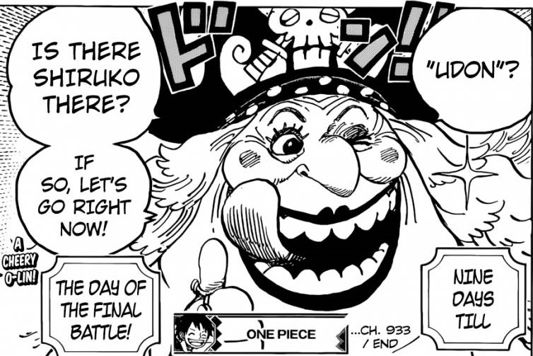 Big Mom is now on the Alliance's side