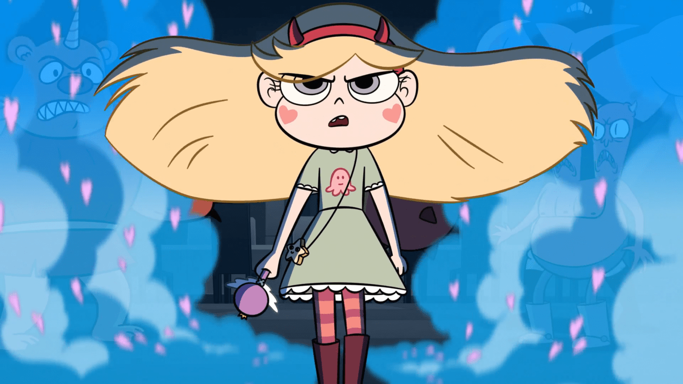 Don't make Star angry. You wouldn't like her when she's angry