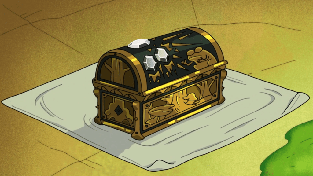 A mystical music box, a key role to play in Amphibia. Like the journals of Gravity Falls