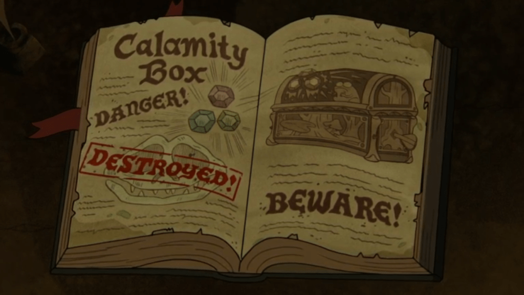 An even bigger, Gravity Falls Mystery