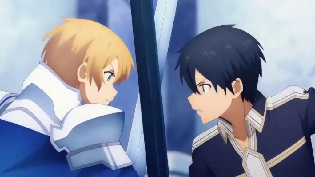 Eugeo vs. Kirito. The fight no one wanted!