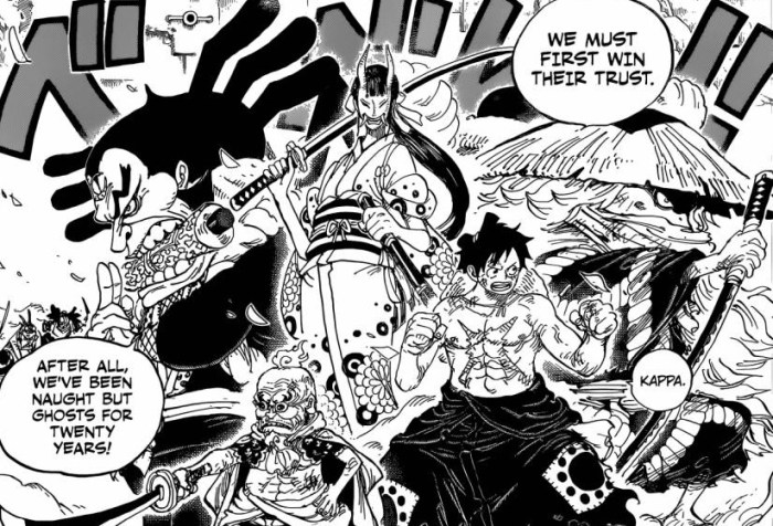 One Piece Win their Trust