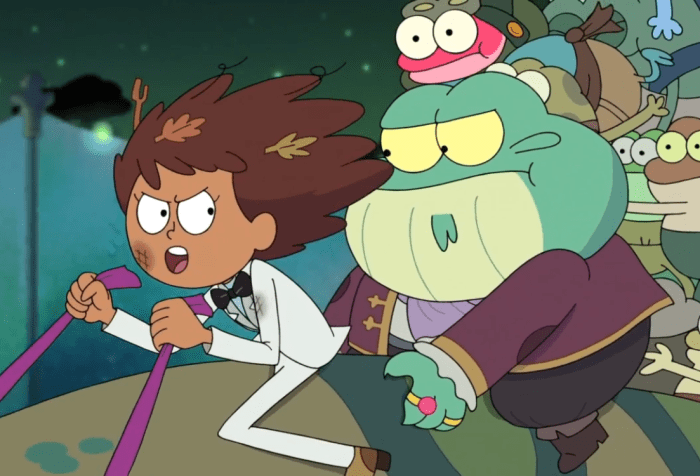 Amphibia- Anne saves the day