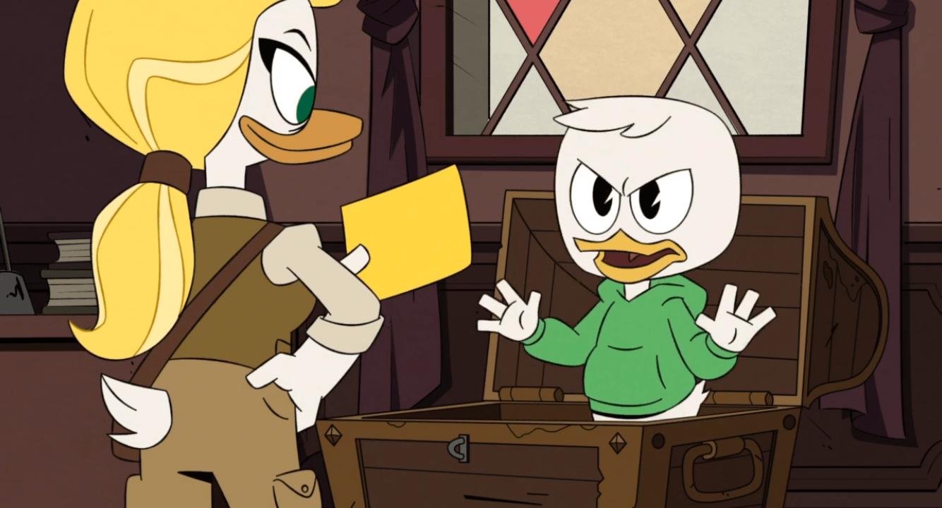 DuckTales-Goldie and Louie