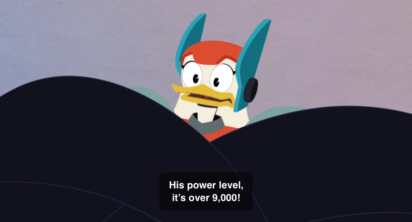 DuckTales-Over 9,000!