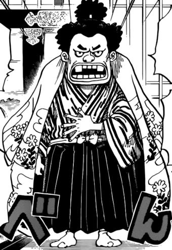 The Scion of the Kurozumi Clan/The One Piece version of Scar.