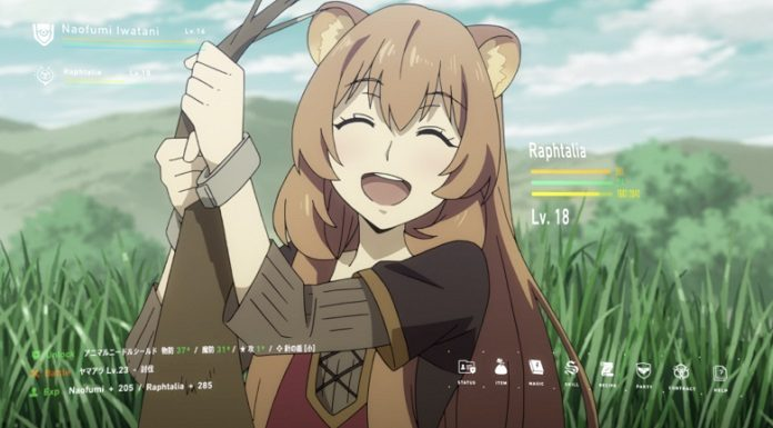 Raphtalia, level 18