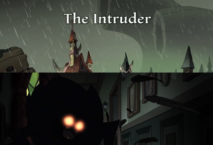 "The Owl House Episode 4 ""The Intruder"" Title"
