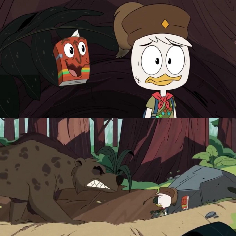 """DuckTales Season 3 """"Challenge of the Junior Woodchucks"""" Huey's Dilemma"""