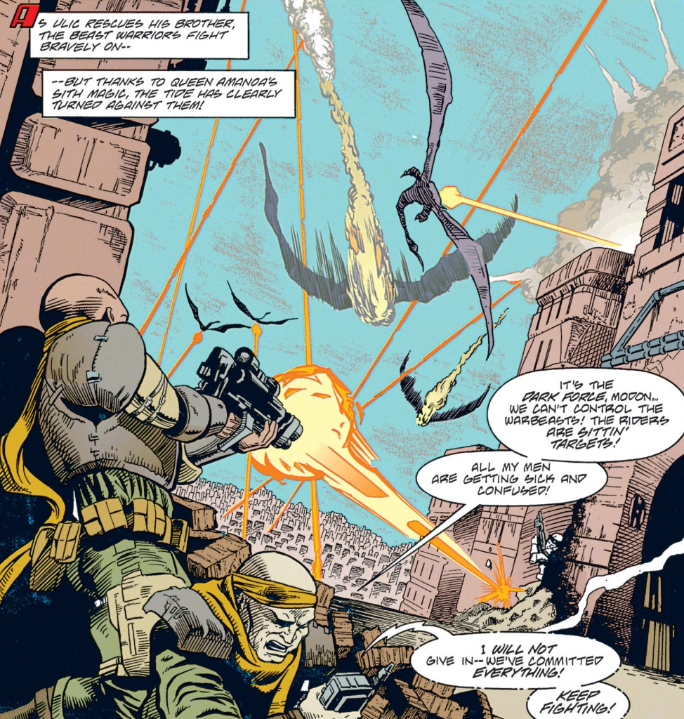 Star Wars Tales of the Jedi Battle for Iziz