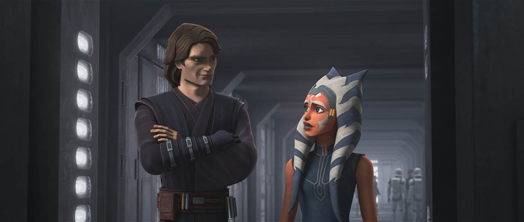 "Star Wars The Clone Wars Season 7, Episode 9 ""Old Friends Not Forgotten""- Anakin and Ashoka Reunite"