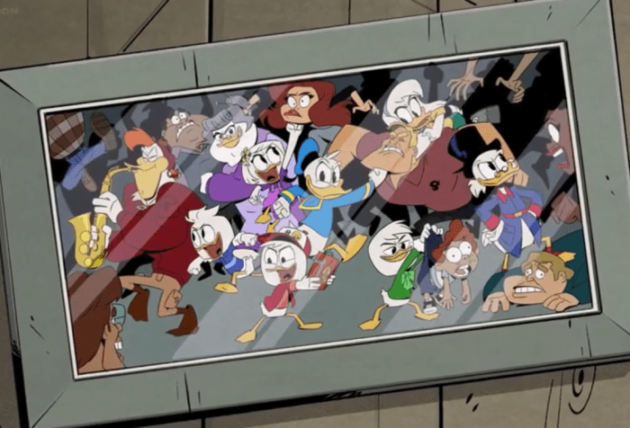 "DuckTales Season 3 ""Quack Pack"" Family Photo"