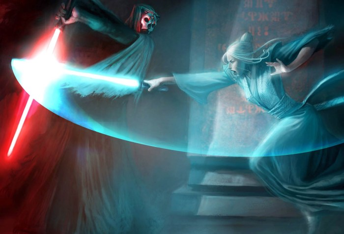 Star Wars KOTOR II: Atris vs. Darth Nihilus