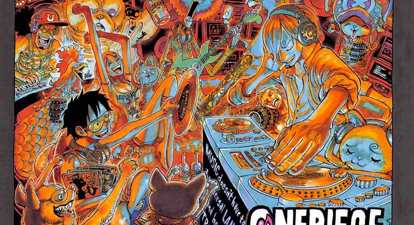 One Piece Chapter 981 Cover Page