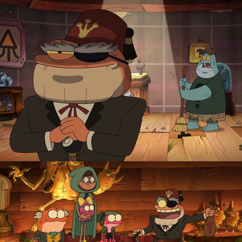 Gravity Falls makes a Pseudo-crossover with Amphibia in Season 2 of the show