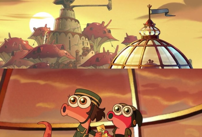 Amphibia Season Episode 2 Episode 7- Amazing Sunset with Newt Mabel