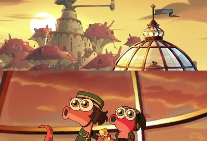 Amphibia Season Episode 2 Episode 7- Amazing Sunset with Newt Mabel