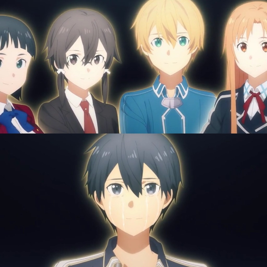 Sword Art Online: Alicization- War of Underworld Episode 42- Friends Are There to Help You