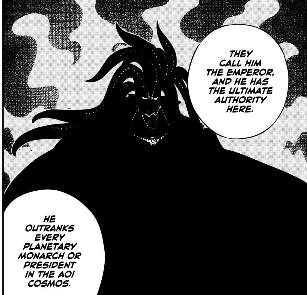Edens Zero Chapter 106- Poseidon Nero, The Emperor of the Aoi Cosmos