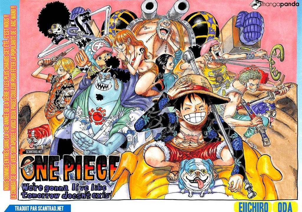 One Piece Chapter 987 Cover Page