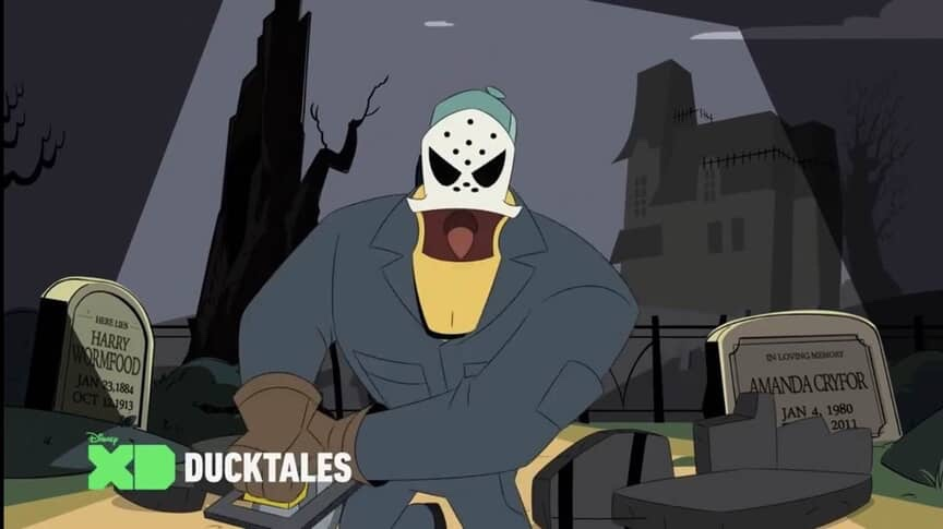 DuckTales! Halloween Episode with Launchpad