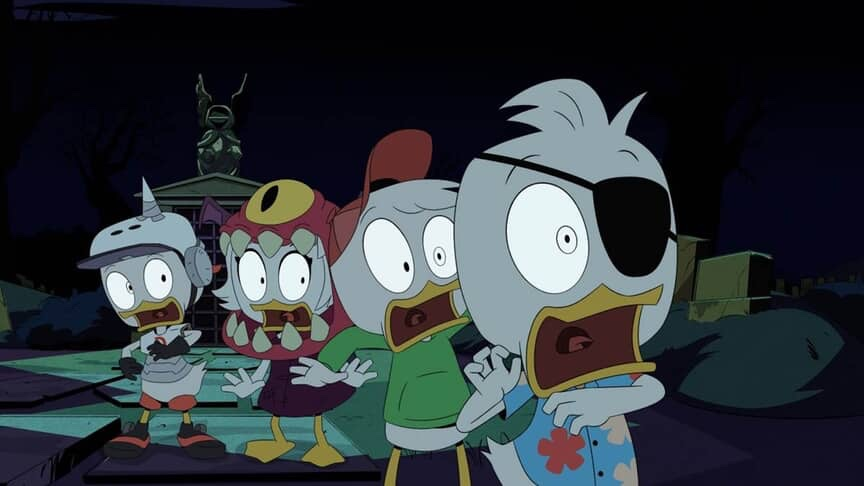 DuckTales! Halloween Episode- Beware, you're in for a scare!