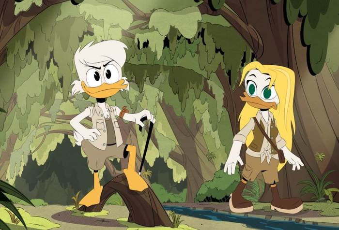 Ducktales Season 3, Episode 11- The Forbidden Fountain of the Foreverglades