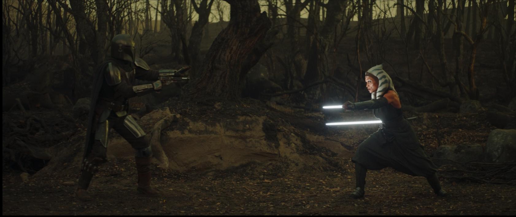 The Mandalorian Episode 13-The Jedi, Mando and Jedi Meet