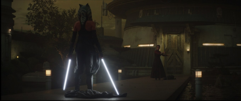 The Mandalorian Episode 13- The Jedi, Showdown between Ashoka and Magistrate