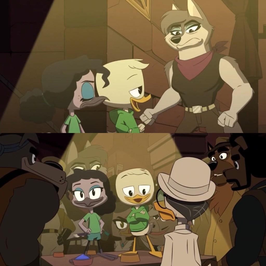DuckTales Season 3 Episode 14-Louie is a badass
