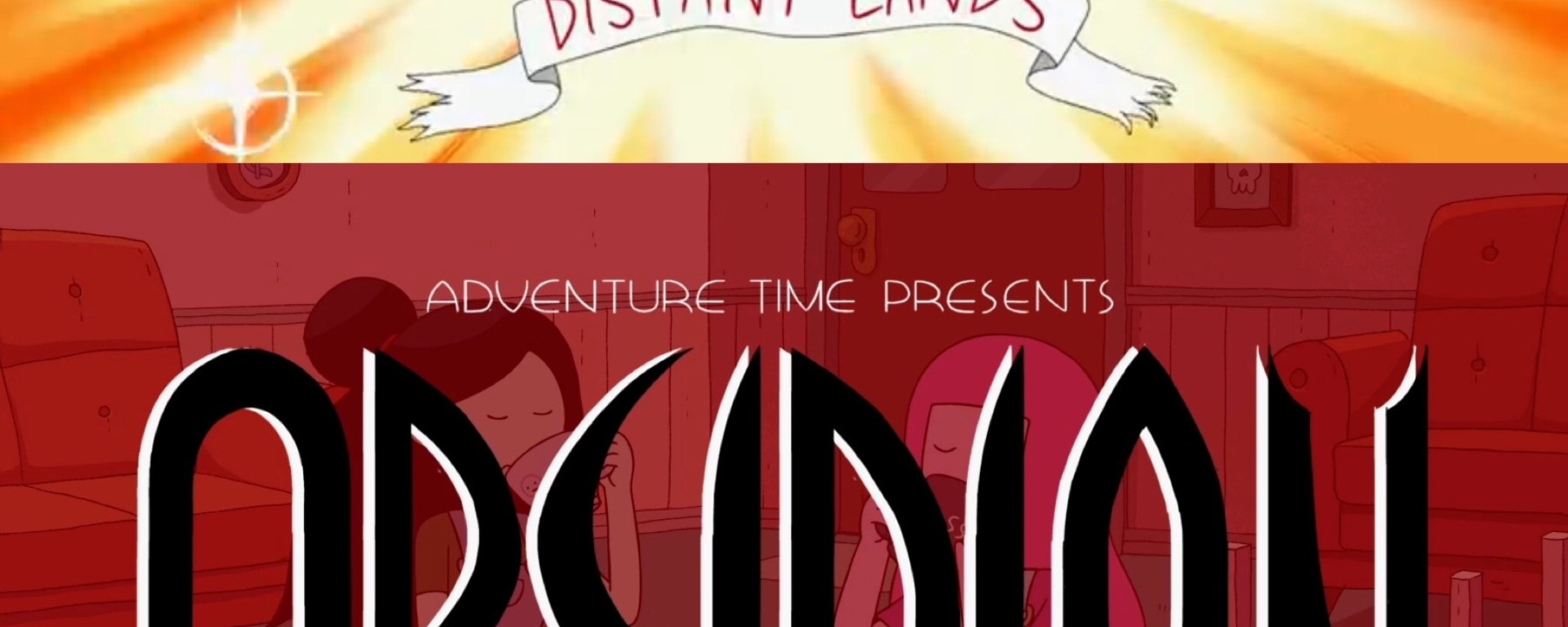 Adventure Time: Distant Lands- Obsidian Title Card