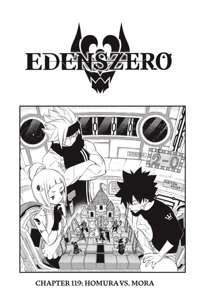 Edens Zero Chapter 119 Cover Page