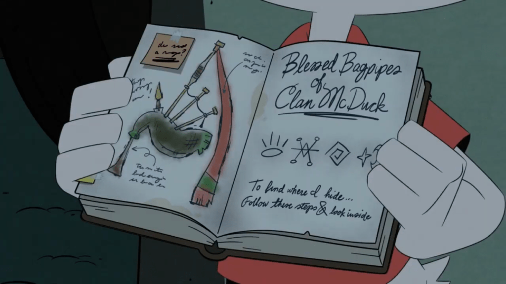 DuckTales Season 3 Episode 17-Blessed Bagpipe of Clan McDuck
