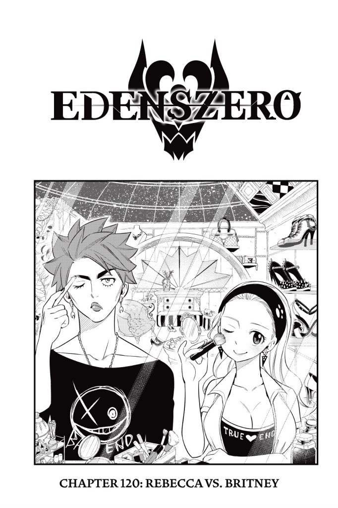 Edens Zero Chapter 120 Cover Page