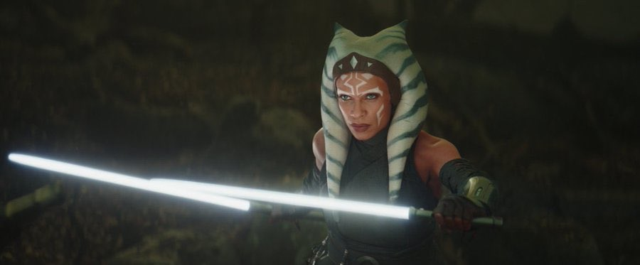 The Mandalorian Episode 13-The Jedi, Live Action Ashoka