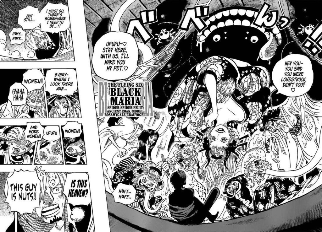 One Piece Chapter 998- Black Maria