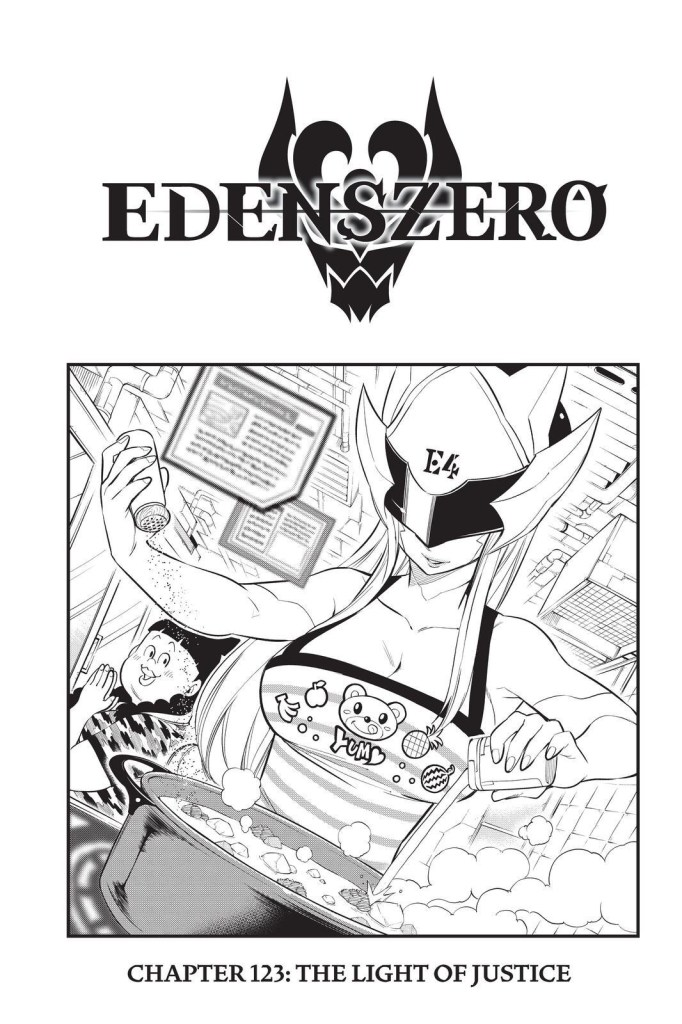 Edens Zero Chapter 123 Cover Page
