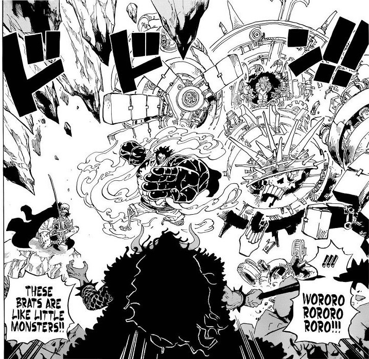 One Piece Chapter 1001-They are monsters