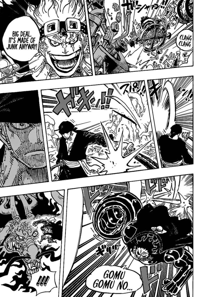 One Piece Chapter 1002-Bring the Pain