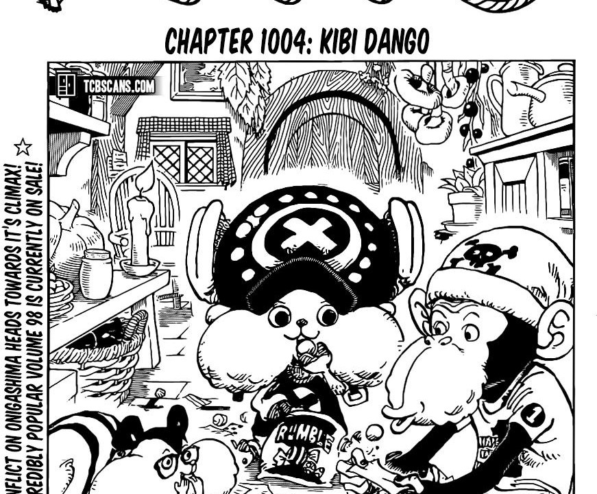 One Piece Chapter 1004 Cover Page