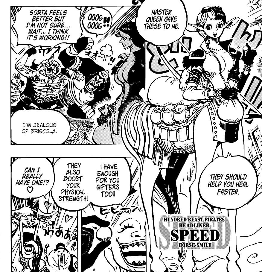 One Piece Chapter 1004-Speed the Headliner