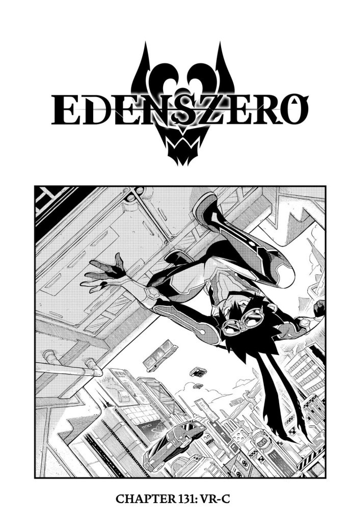 Edens Zero Chapter 131 Cover Page