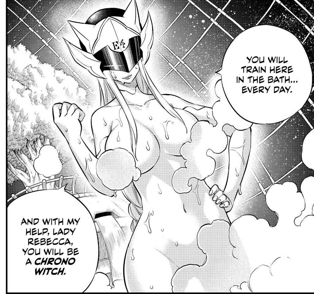 Edens Zero Chapter 132-Witch's Plans to Train Rebecca