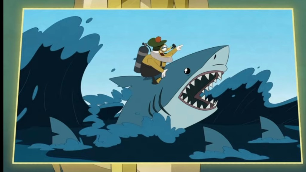 DuckTales Season 3 Episode 21-Glomgold and the Sharks