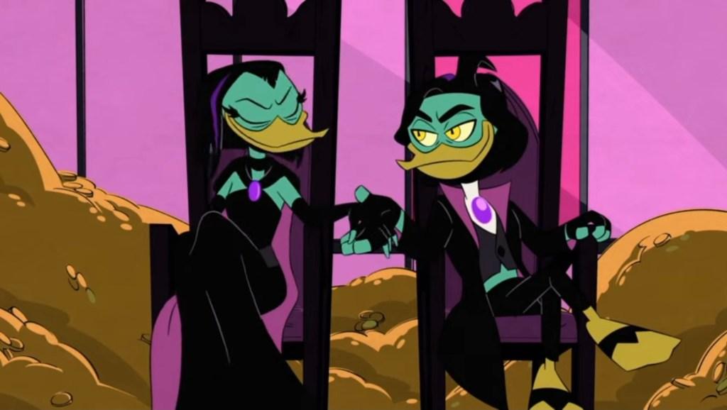 DuckTales Season 3 Episode 21-Poe and Magica DeSpell